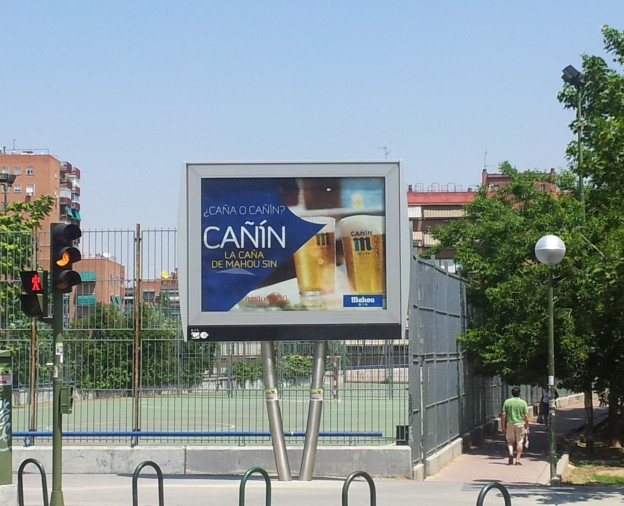 Cañin, Estrategia de marketing MAHOU